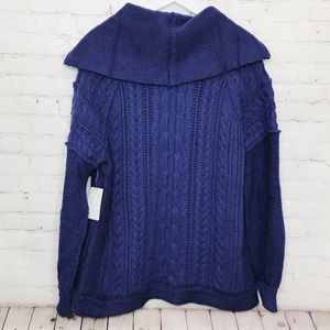 Free People Sweaters - Free People Sweater Partial Zip Knit Pullover